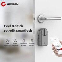 GIMDOW Smart Door Lock Password Lock motor lock electric hotel lock electric strike handlesets electric bolt lock bluetooth lock