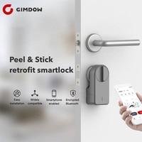 Para airbnb bloqueio gimdow fechadura da porta inteligente senha de bloqueio incluir disco de senha elétrica bloqueio do hotel bloqueio de parafuso elétrico bloqueio bluetooth|Trava elétrica| |  -