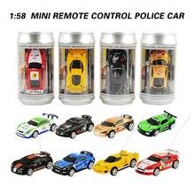 8 couleurs 20 Km/h canette de Coke Mini RC voiture Radio télécommande Micro voiture de course 4 fréquences jouet pour enfants cadeaux RC modèles offres spéciales
