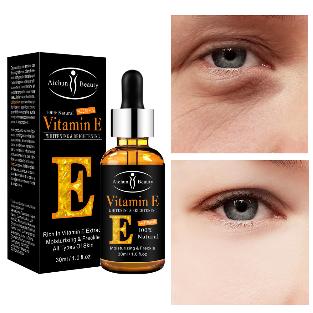 Vitamin E Essence Eye Moisturizing Desalination Fine Lines Eye Bag Black Eyes Vitamin E Essence