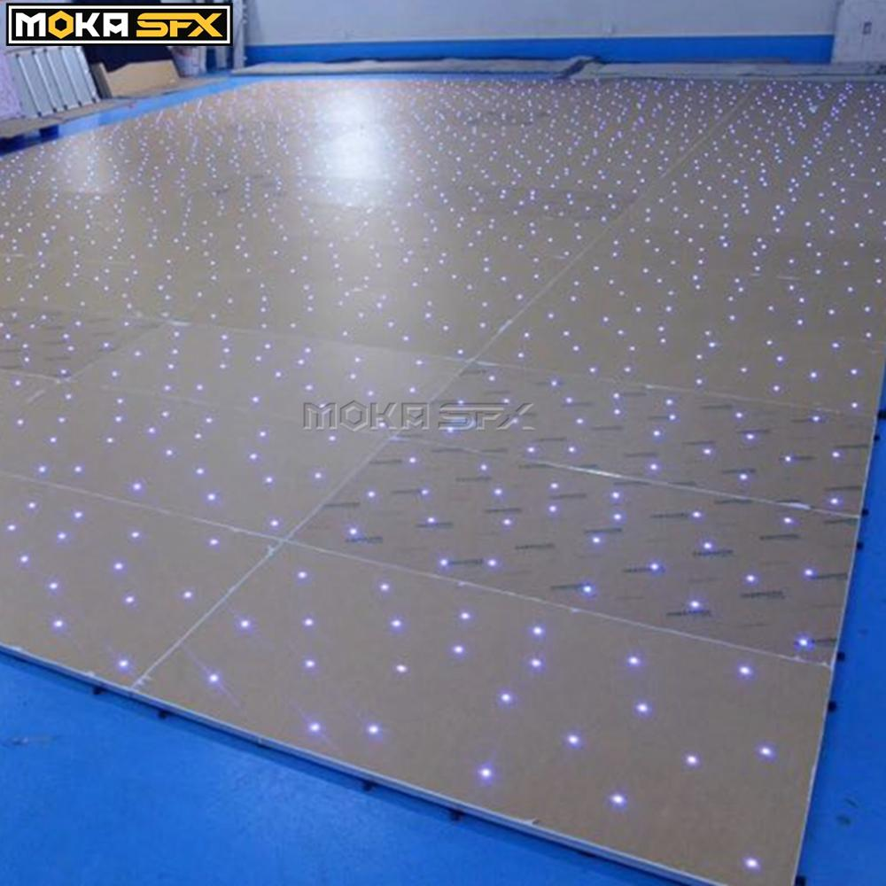 16X16 Feet Led Twinkling Dance Floor RGB 3in1 Panel DMX LED Panel For Wedding Party Concert