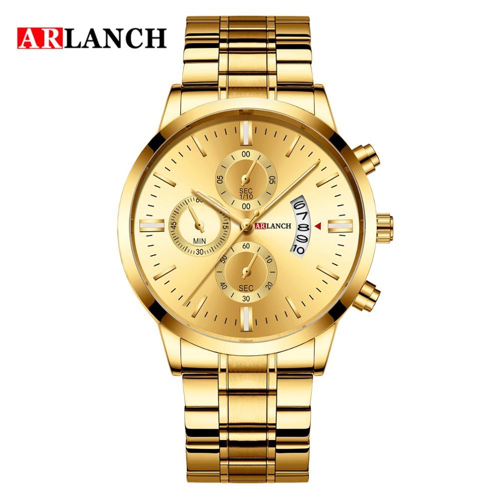 Купить мужские часы модные бизнес кварцевые наручные из нержавеющей