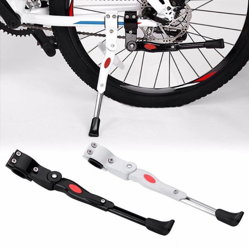 Spor ve Eğlence'ten Bisiklet Şasisi'de 34.5 40cm evrensel MTB bisiklet bisiklet park Kick standları bacak rafı Brace montaj yan destek bisiklet bisiklet parçaları aksesuarları title=