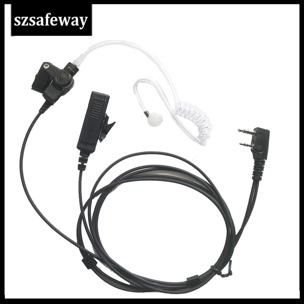 Walkie Talkie Headset Acoustic Tube Earpiece For Kenwood Baofeng UV-5R TK-270G,TK-272, K-272G