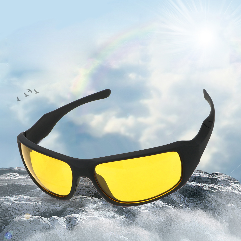 Motorcycle Glasses Riding Night Vision Goggles Night Driving Glasses Wind Resistant For Men And Women Outdoor Sports Glasses