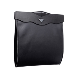 Dwufunkcyjny worek do przechowywania śmieci samochodowe Bin tylne siedzenie samochodowe wiszące organizuj pudełko wielofunkcyjny worek na śmieci Led Light