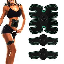 Abdominal Muscle Trainer Electronic Muscle Exerciser Machine Fitness Toner Belly Leg Arm Exercise Toning Gear Workout Equipment все цены