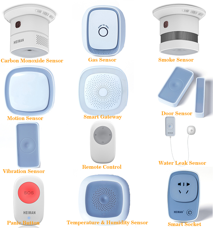 H39852b56ec5342ad87005bcad6134985O - Heiman Nice Design Zwave Strobe flash Siren 95DB big sounds Alarm With EU or US Plug for option
