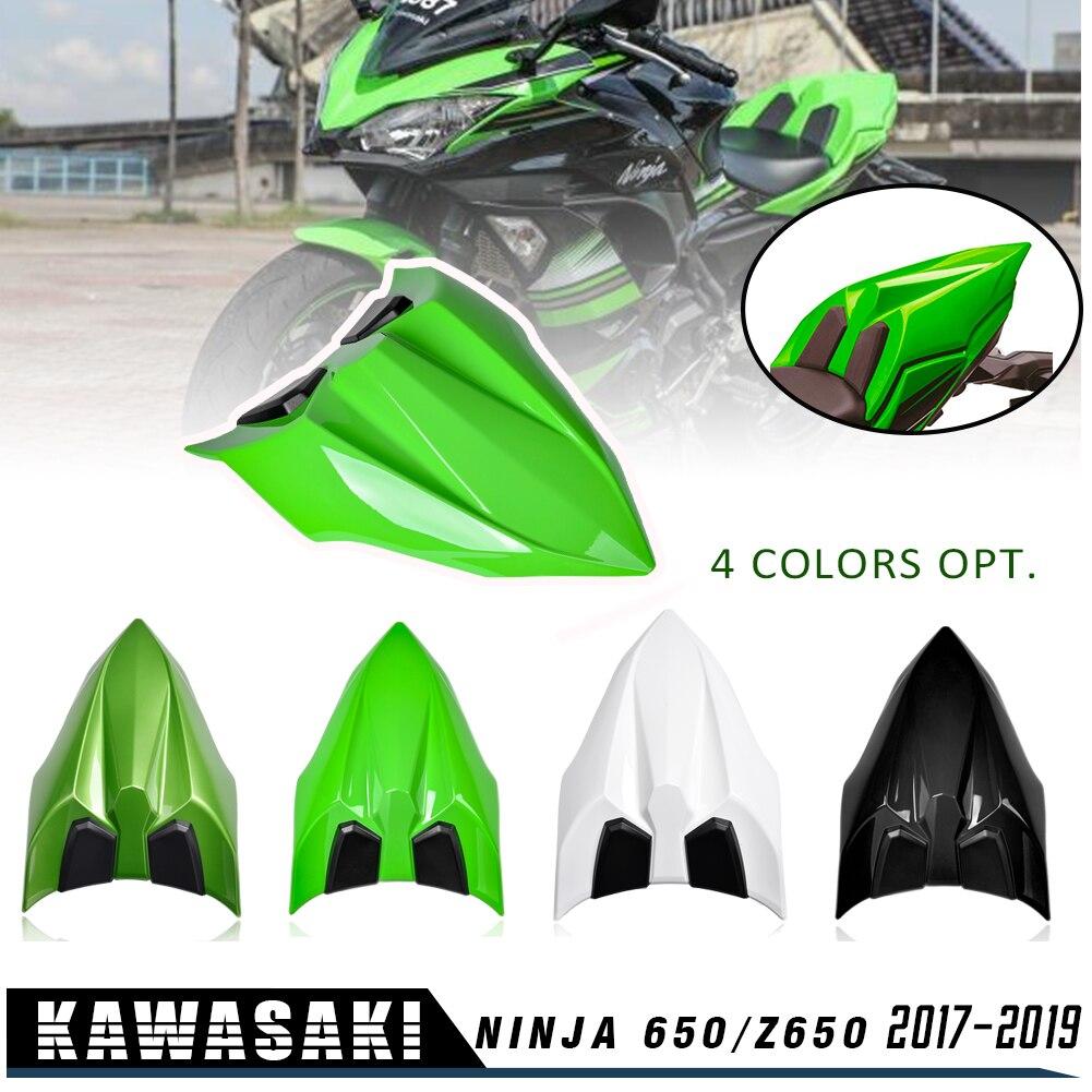 NINJA 650 Z650 Accessories Rear Seat Cowl Fairing Cover ABS Plastic Green Black White For Kawasaki NINJA650 Z 650 2017 2018 2019