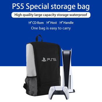 New Design for PS5 Bag Game Console Backpack for Sony Playstation 5 Console Travel Bag Host Back Pack Portable Satchel 1
