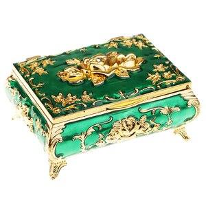 Image 2 - Russian Style Diamond Jewelry Box Jewelry Storage Box Wedding Gift