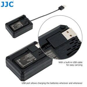 Image 3 - JJC cargador USB Dual de batería para cámara Sony ZV 1, NP BX1, RX100, VII, VI, VA, V, IV, III, II, RX1RM2, RX1R, RX1, WX500, WX530, WX300