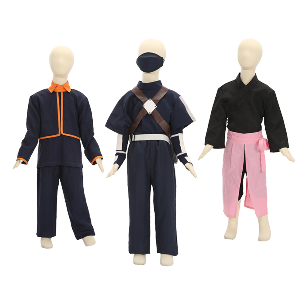 Brdwn – Costume de Cosplay de l'équipe Minato pour garçons, Costume de Ninja Uchiha Obito Hatake Kakashi