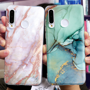 Clear Marble Soft TPU Cases For Huawei Honor 9S X10 View 10 9X 30S 20 30 Pro Plus 9 Lite 8X 8C V30 Play 9A 8A 4T 3 10i 20i Case