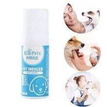 Pet освежитель для рта Антибактериальный спрей для рта лечение свежего дыхания собак и кошек Здоровый Уход за зубами спрей для свежего дыхания A30