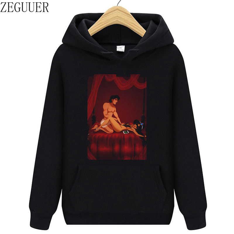 Grappig Gedrukt Belle En Beast Oversized Vrouwen Sweatshirts Kleding Hot Koop Casual Zwarte Vintage Truien Hoodies Herfst Tops