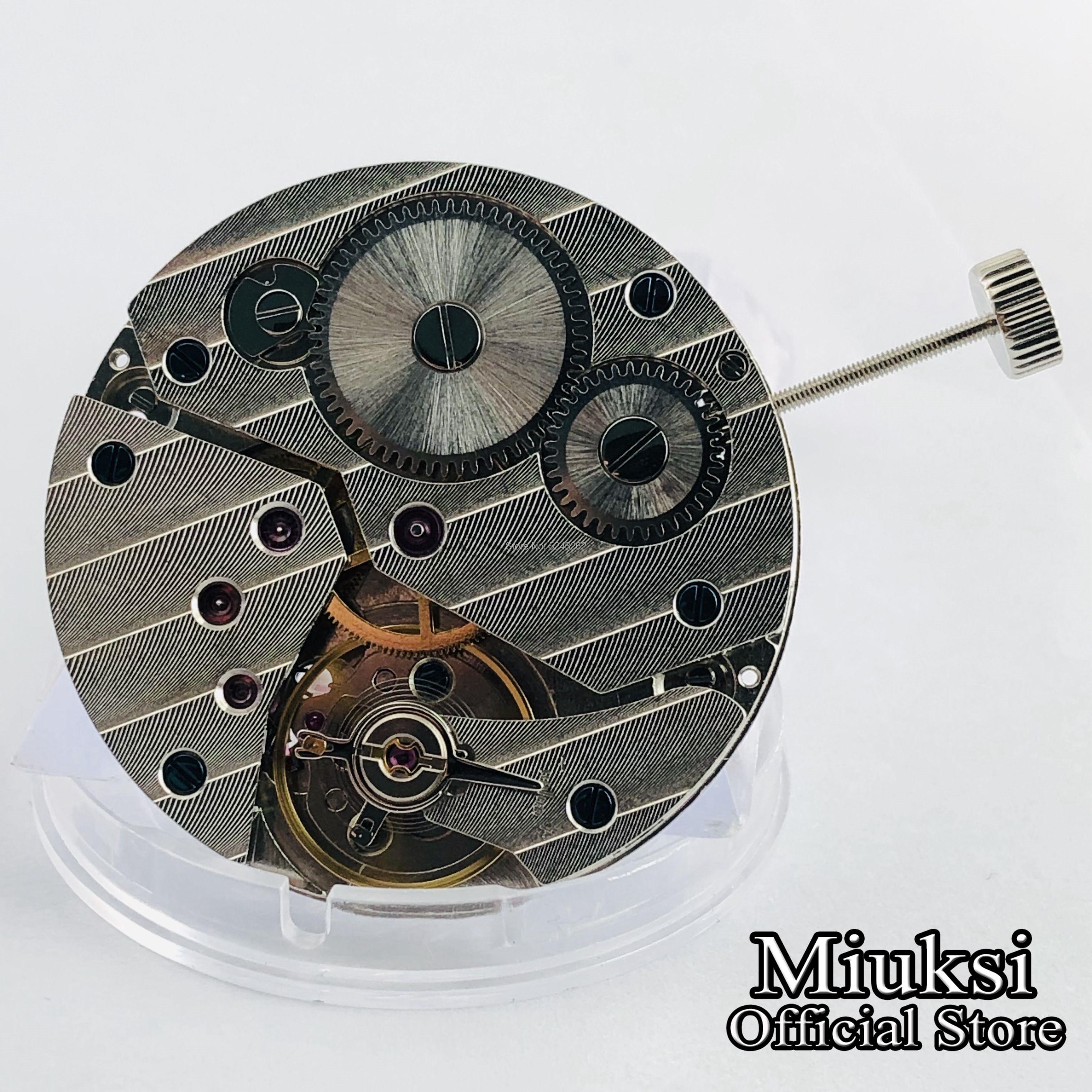 17 jewels mechanical asia 6497 Hand winding Mechanical Movement for mens watch wrist watch