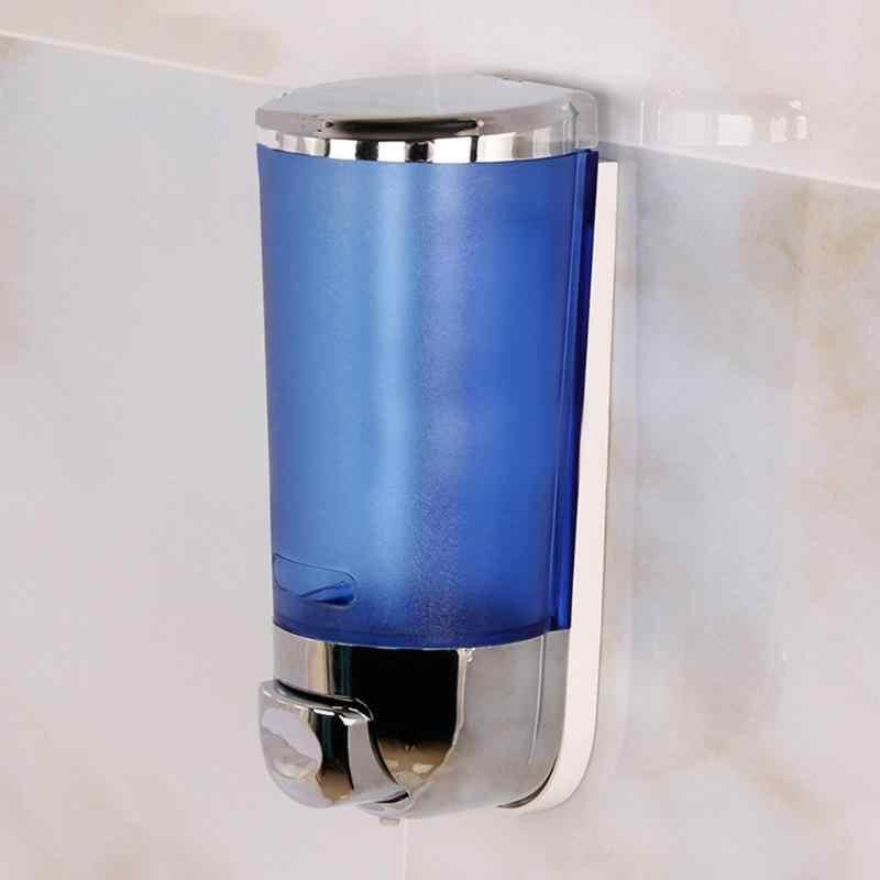 500ml do montażu na ścianie dozowniki w płynie mydło Sanitizer toaleta łazienka prysznic dozownik szamponu kuchnia pojedyncze głowy ręcznie mydło Box
