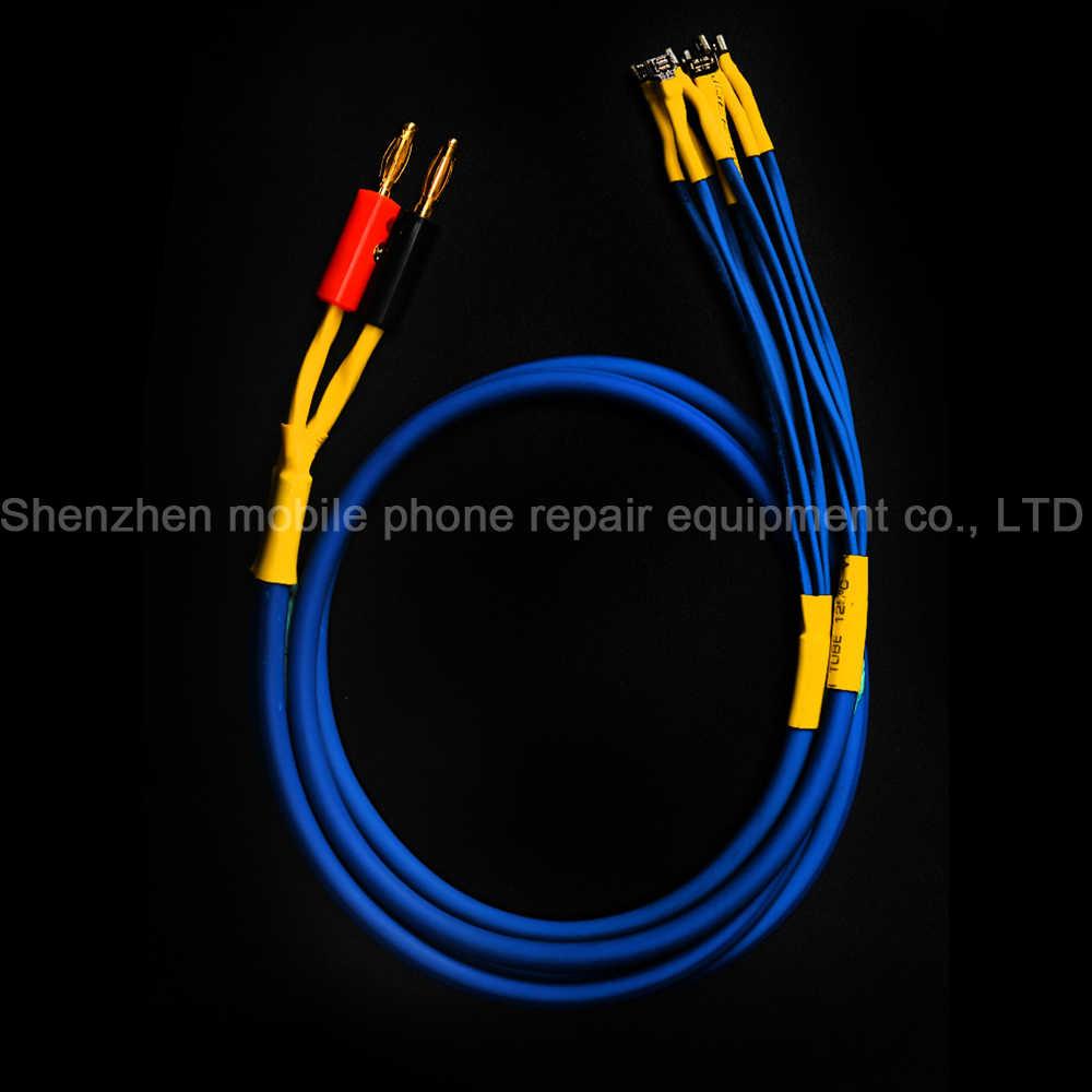 Yükseltme mekanik iBoot reklam Samsung Huawei Xiaomi için OPPO VIVO çizme hattı DC güç kaynağı testi kablolu telefon güç Boot hattı