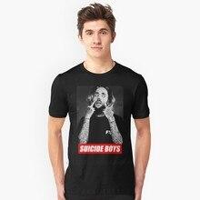 $ Uicideboy $ T Shirt samobójstwo dorosła męska koszulka Suicideboys koszula męska bawełniana koszulka klasyczna koszulka Awesome Plus Size