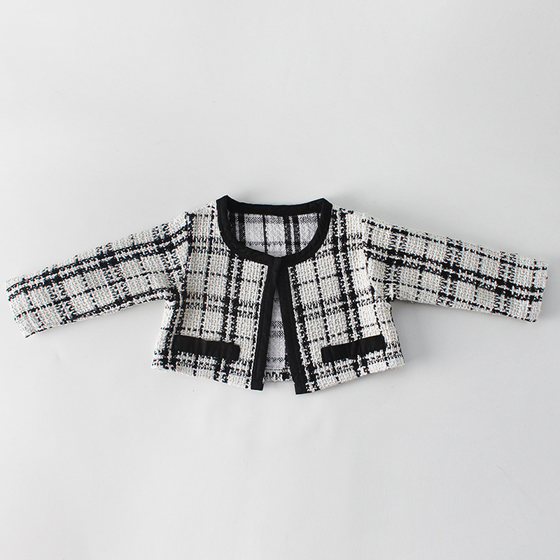 H3987319d99d54a28ad221584d5b4b8ea0 Fashion Baby Rompers for Girls Plaid Infant Jumpsuit Baby Girl Romper with Coat Baby Onesie Toddler Clothes Baby Costume