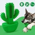 Dentes do cão limpeza brinquedos escova de dentes de borracha vara animais estimação cão ferramenta limpador de dentes ac889