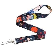 Correa de cuello de Anime CA707, venta al por mayor, 10 unidades/lote, cordón para tarjeta de Llavero con ID, correas de teléfono, lazo de cuerda para colgar