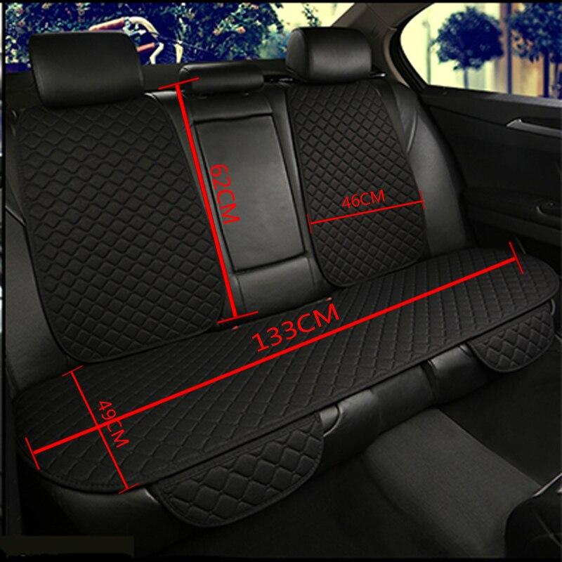Image 5 - Льняная защитная накладка для автомобильного сиденья передняя задняя подушка для спины коврик со спинкой для авто автомобильного салона грузовика внедорожник или фургон-in Чехлы на автомобильные сиденья from Автомобили и мотоциклы