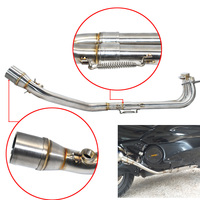 Motorcycle Full System Header Pipe For Yamaha T max Tmax 500 530 TMAX530 TMAX500 2001 2016 2004 2005 2006