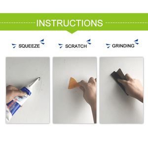 Image 2 - ユニバーサル壁補修軟膏グラウト美しい用ホーム壁剥離落書きギャップ修理クリーム構築ツール