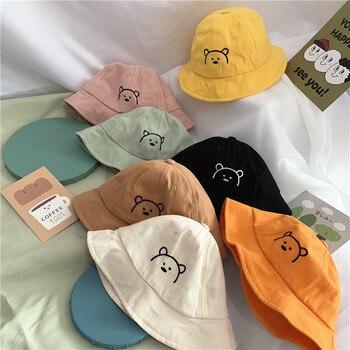 Cartoon Bear Printed Kid's Bucket Hat 4