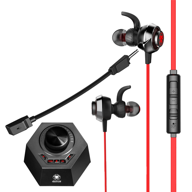 PLEXTONE G50 3.5mm Headset Game Earphone Game DSP Sound Processor HiFi Vibration Gaming Bass Noise Cancelling with Dual Mic
