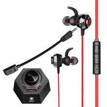 PLEXTONE G50 3,5mm auriculares juego auricular DSP Procesador de sonido HiFi vibración Gaming Bass Cancelación de ruido con micrófono Dual