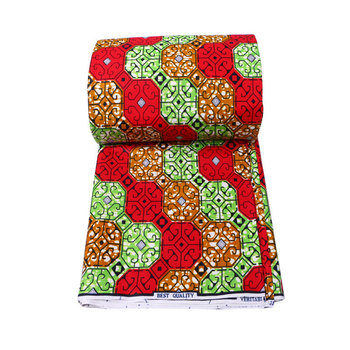 Nigeria wax prints Fabric Ghana wax 100% Cotton Fabric Ankara Wax High Quality Real african fabric wax print style 2019 new arrival nigeria ghana 100