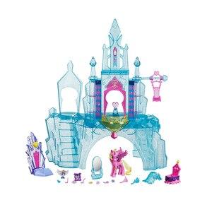 Image 3 - מקורי מותג הקטן שלי צעצועי פוני ידידות הוא קסם טירת קריסטל חליפת לתינוק קטן חג המולד יום הולדת מתנת ילדה Bonecas