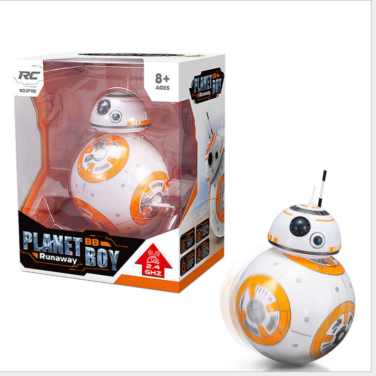 Star Wars Bb-8 Intelligent Remote Control Robot Intelligent Magnetic Force Bb8 Model Children's Toy