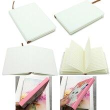 Cuaderno de sublimación en blanco A5/A6, impresión en caliente, consumibles en blanco, regalos personalizados DIY para niños, 2 unidades por lote