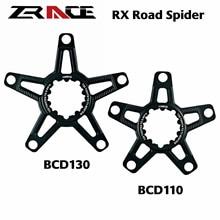 Zracing RX дорожное прямое Крепление Spider для SRAM 3 винтовой Кривошип, SRAM прямое Крепление кривошипа для BCD110 / BCD130 5 болт цепные кольца