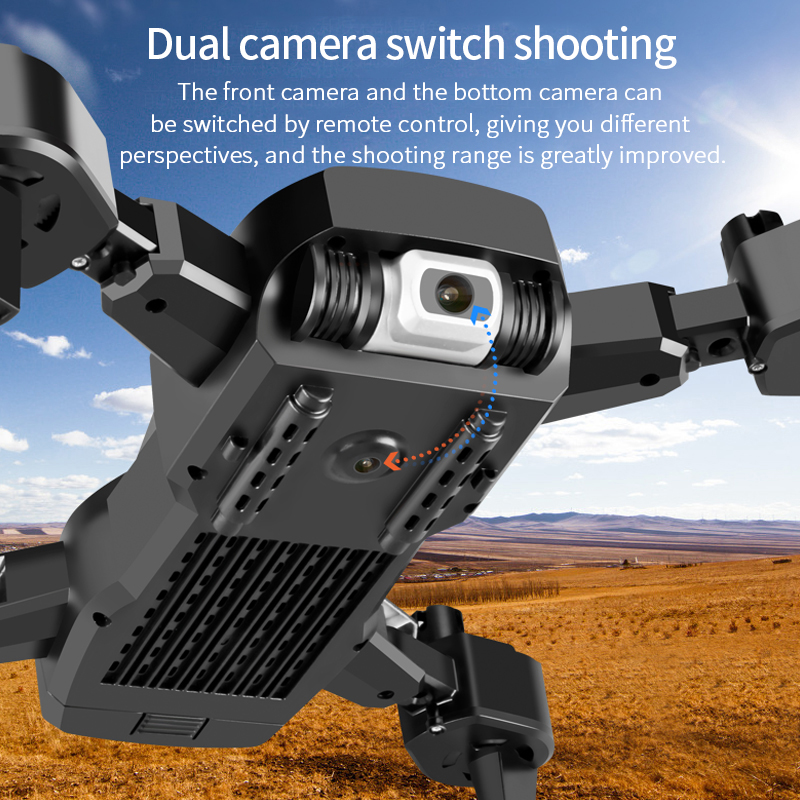 2020 NEW S60 Rc Drone 4k HD Wide Angle Camera 1080P WiFi fpv Drone Dual Camera Quadcopter Real-time transmission Helicopter Toys