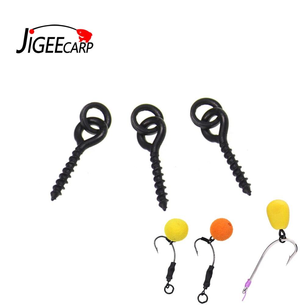 50pc Fishing Hook Stopper Bait Stop Beads Hair Rig Stops Holder Bait Stopper