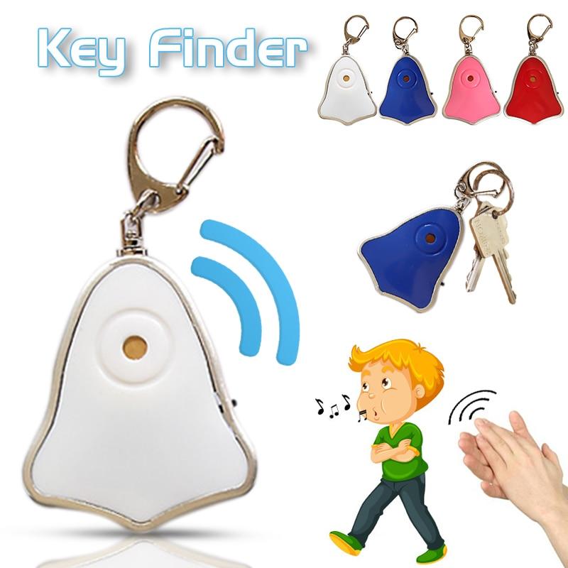 Anti-lost Whistle Locator Key Finder Flashing Beeping Remote Kids Key Bag Wallet Locators Child Alarm Reminder Drop Shipping