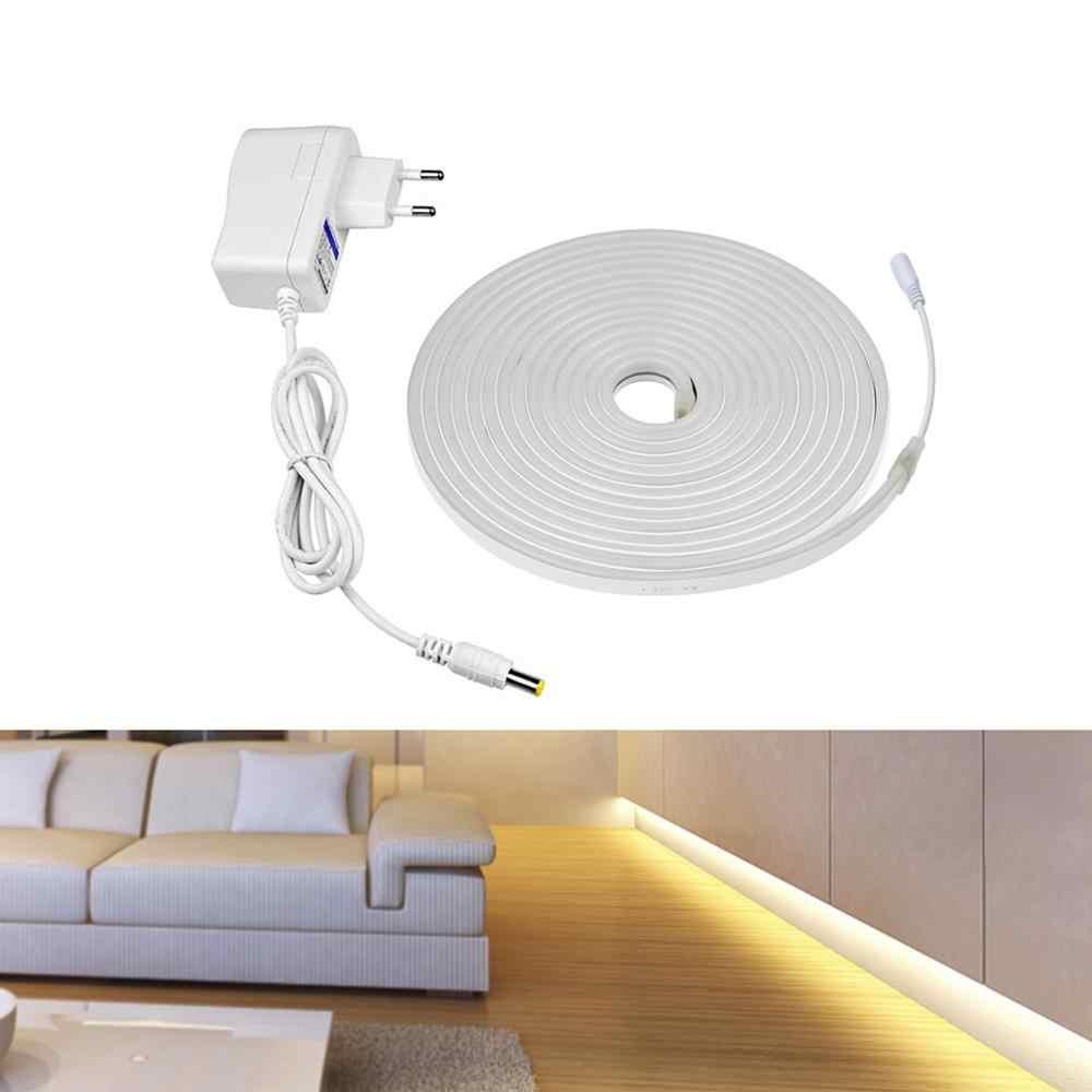 Decoración del hogar letrero de luz de neón tira de LED 12V Flexible impermeable de neón LED cinta de diodo cinta dormitorio cocina iluminación lámpara