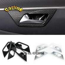 4 шт накладки на внутреннюю дверь автомобиля из АБС пластика