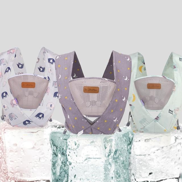 0-36M Portable Baby Carrier Ergonomic Baby Carrier Infant Baby Ergonomic Kangaroo Baby Sling for Newborns Baby Hip Seat