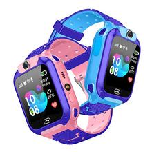 Waterproof Kids Smart Watch SOS Antil-lost Smartwatch Baby 2G SIM Card Clock Call Location Tracker