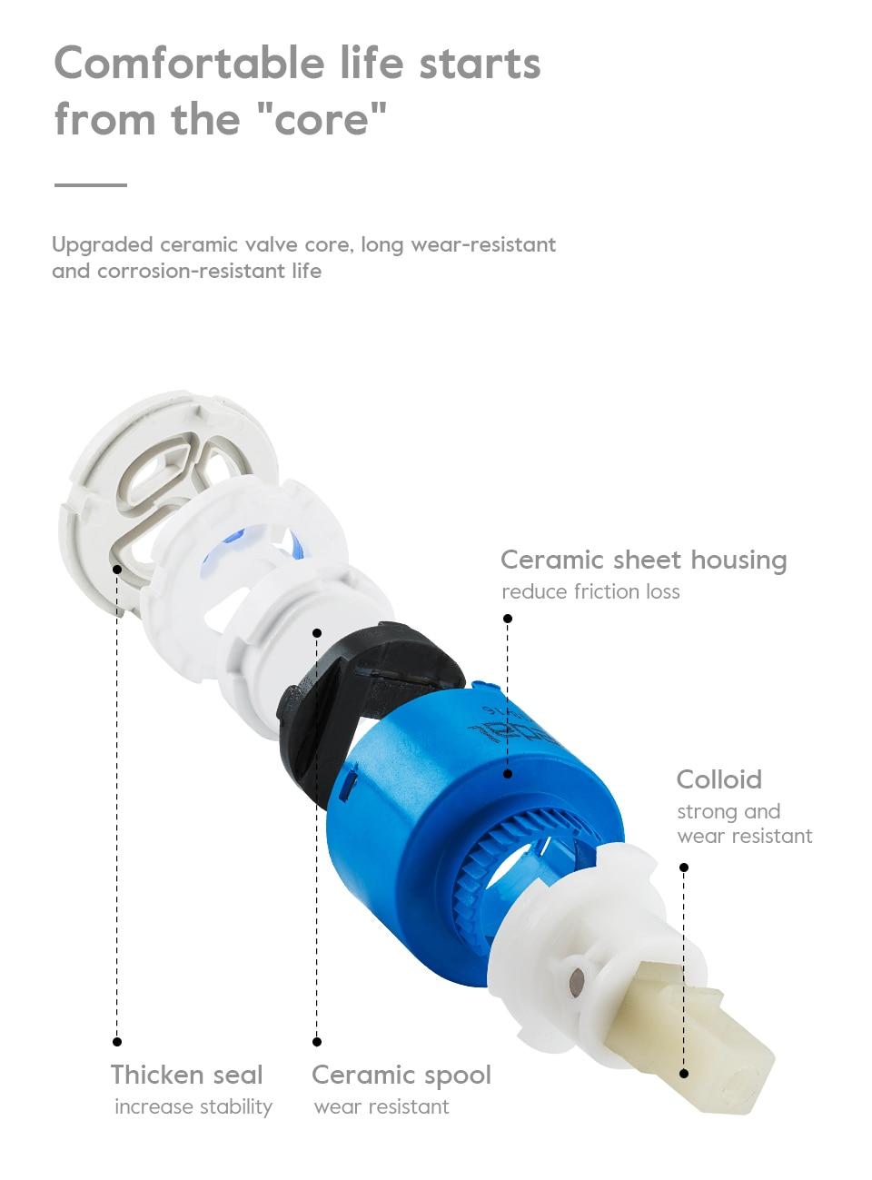 H3989dcf740064bd2a8af9c76ff4e6cb54 GAPPO water filter taps kitchen faucet mixer kitchen taps mixer sink faucets water purifier tap kitchen mixer filter tap