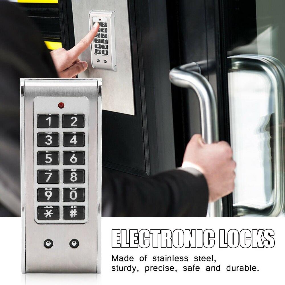 Комбинация ящиков с паролем, замок из нержавеющей стали, электронный замок с паролем для гостиничной компании, фабрика безопасности PUO88|Электрический замок|   | АлиЭкспресс