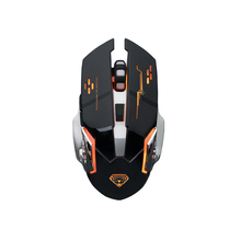 Q3 3200DPI 6 Buttons Wireless Gaming Mouse LED Light Ergonomic 2.4GHz Gamer Mice for PC Laptop Computer