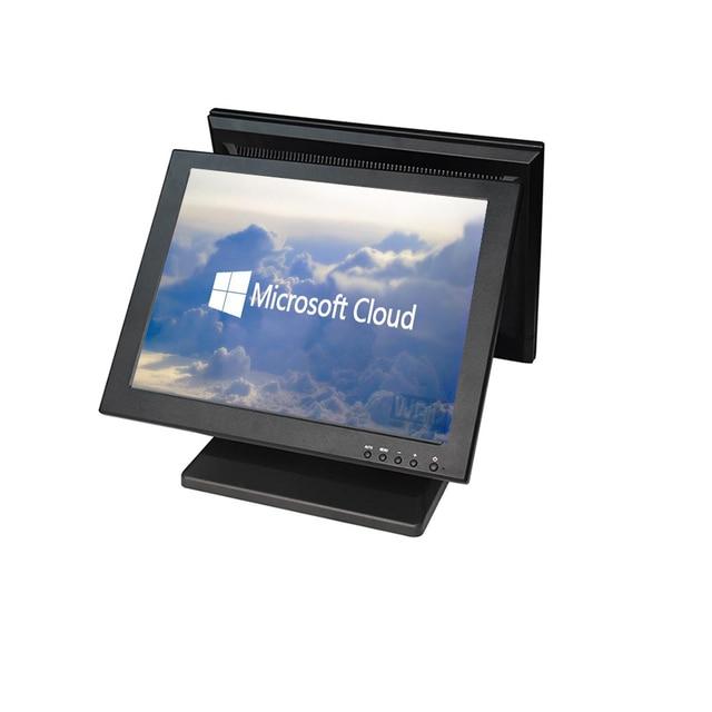 Moniteur à Double écran tactile LCD 15 pouces, haute définition, livraison gratuite 1