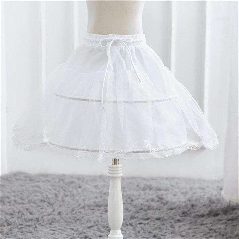 Baby Girls Tutu Skirts Flower Girl Petticoat Children Infant Girl Skirts Princess Tulle Party Underskirt Skirts For Kids Costume 2